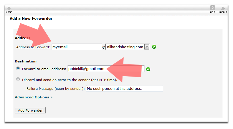 send email using gmail your domain